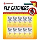 10 Pack Fly papers, killer, insects, for home, sheds