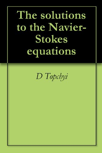 The solutions to the Navier-Stokes equations, D Topchyi