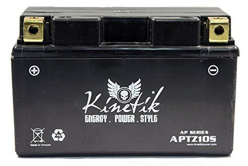 Kinetik 12V 8.6AH Battery for Yamaha 1000 YZF-R1, M (Yamaha Yzf R1 Specifications)
