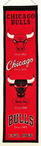 [NBA Chicago Bulls Heritage Banner] (Logo Heritage Banner)