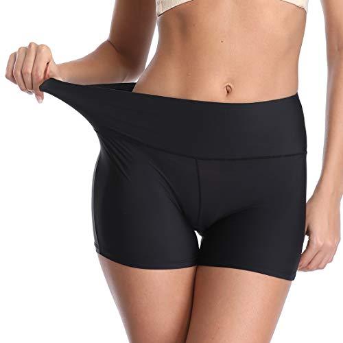 - Seamless Boyshorts Panties for Women Underwear Soft Boy Shorts Slimming Underwear Shorts Black