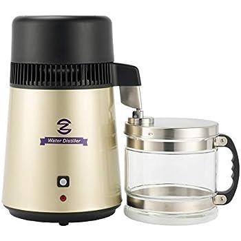 Amazon.com: Mejor Acero Inoxidable destilador de agua con ...