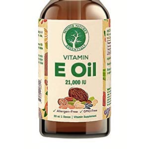 100% Natural Vitamin E Oil, 42,000 IU, 2 Ounces. Highest Grade IU. Perfect for All Skin Types. Can be Used Daily to Protect and Hydrate The Skin. So Pure it can be Taken orally.