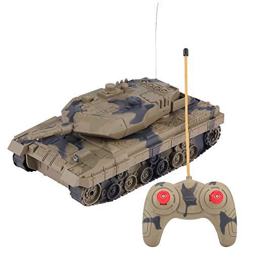 RCモデル 戦車 1:14/1:24 リモートコントロール 4チャンネル 軍事バトルタンク 軍隊ファン対応 おもちゃ 迷彩カラー 4タイプ(1:24カモフラージュイェロー)