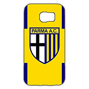 Parma Football Club spa Logo Phone Case for Samsung Galaxy S6 3D Black Slip On Cover