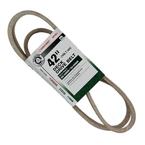 MTD OEM-754-04060 42-Inch Deck Drive Belt for Tractors 2005 and After by MTD