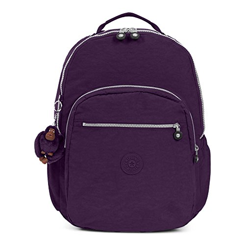 Kipling Seoul Go Extra Large Laptop Backpack One Size Deep Purple