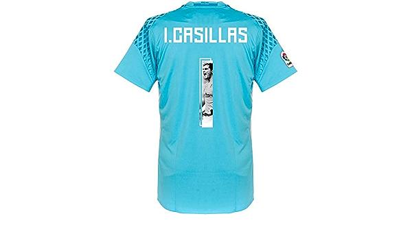 Real Madrid Home TW Camiseta 2016 2017 + I. Casillas 1 ...
