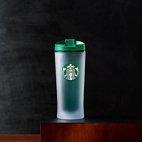 Starbucks Travel Mug/Tumbler Frosted Siren Acrylic Green355ml 12fl/oz