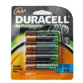 Duracell 243-DX1500B4N Aa Pre-Charged Rechargeable Battery ()