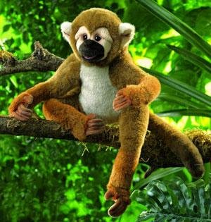 Folkmanis Puppet Squirrel (Folkmanis Monkey)