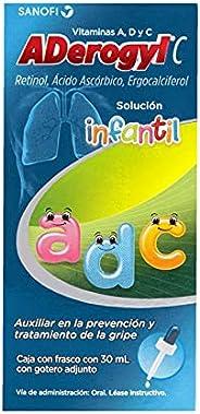 Aderogyl C Infantil - Vitaminas para Niños en Solución, 30 ml