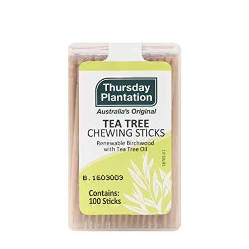 Flavored Chew Sticks - Tea Tree Toothpicks 100 Count by Thursday Plantation (3)