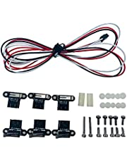 Mogzank Vertical Mechanical Limit Switch Endstop Press Stroke Reset Switch for 3D Printer CNC Accessories