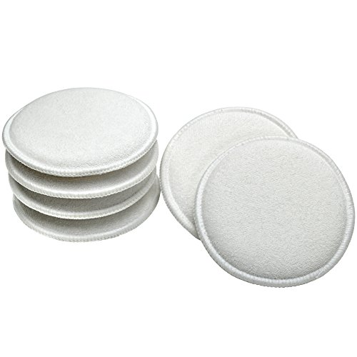 Wax Applicator Pads - 6 Pack (Terry Applicators)