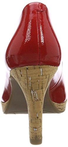 Rosso 22421 Donna Pat Con Comb Marco chili Tacco Tozzi Scarpe qCnv7Y