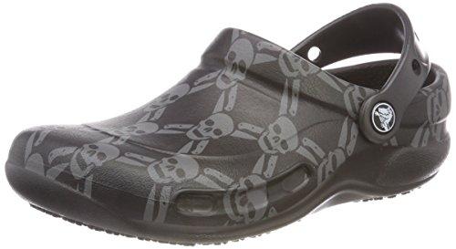 Smoke Black Black Graphic Bistro Adult Unisex Crocs Clogs xq0YwPxF