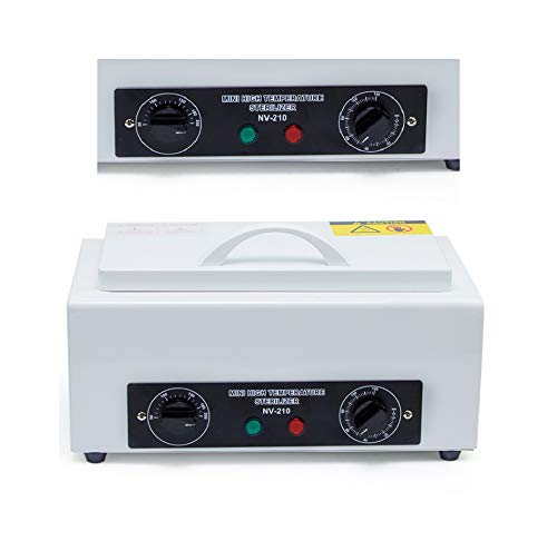 Superdental Mini Autoclave Sterilizer Dry Heat Hot Air Sterilizing Cabinet for Spa Salon