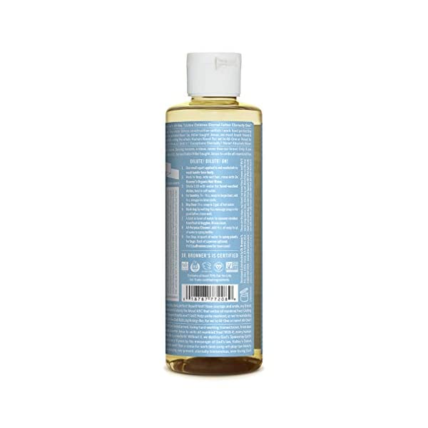 Dr. Bronner's Aloe Baby Castile Soap Made with Organic Ingredients 237 ml