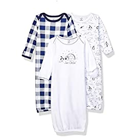 Touched-by-Nature-Baby-Girls-Organic-Cotton-Gowns