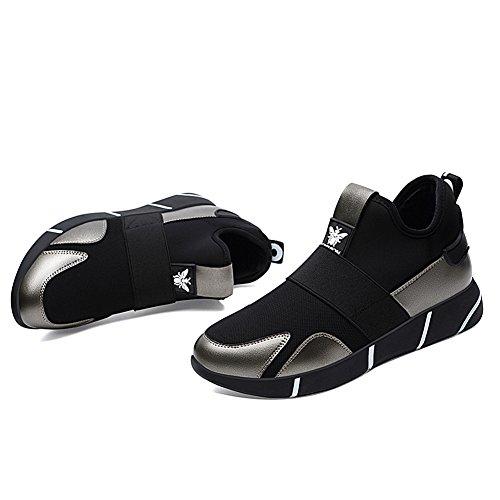 de Zapatillas de Deporte de Zapatillas Color de tamaño de Plata del el la Ocasionales Primavera 37 Deporte Las Mujeres Las y Las otoño Verano Zapatos Id0qd