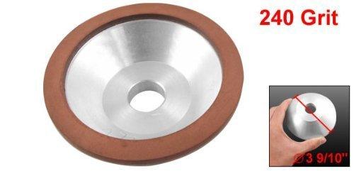 Preamer Resin Bonded Flaring Cup Diamond Grinding Wheel 100x32x20x10x3mm , 240 Grit