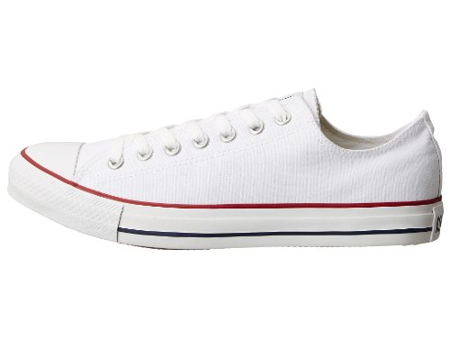 Converse Unisex Chuck Taylor All Star Ox Canvas Sneakers Optisch Wit