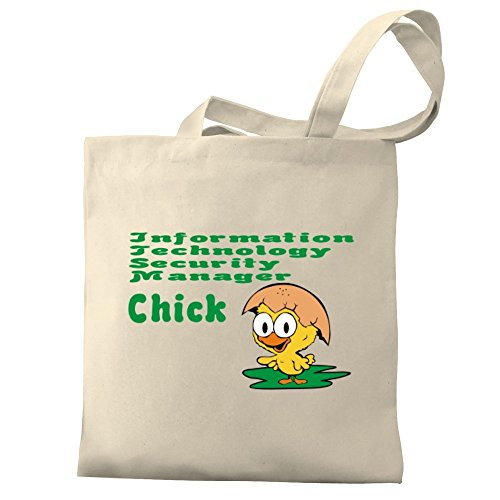 Security Bag Tote Information Eddany chick Canvas Eddany Information Technology Manager FIHPq