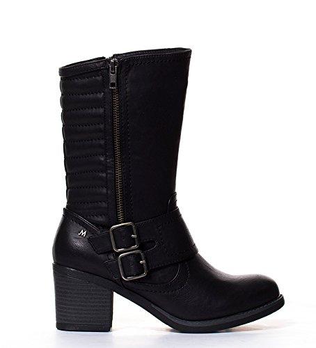 Maria Mare - Botines Renia Negro-Altura tacón: 7cm- - 68685 - Talla 38: Amazon.es: Zapatos y complementos