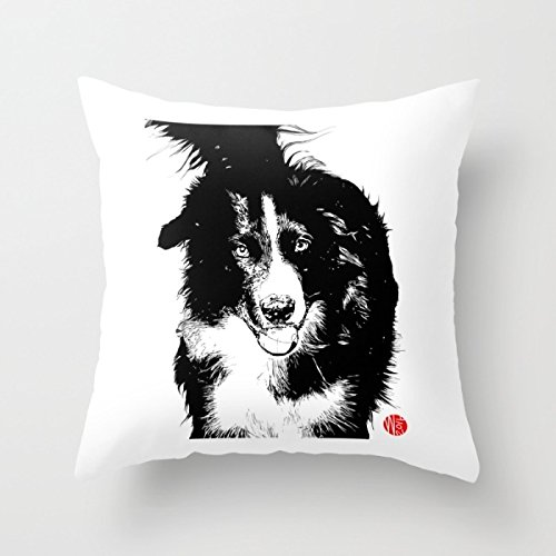 Pillow Cases Of Dogs 18 X 18 Inch / 45 By 45 Cm,best For Dining Room, Study Room, Wedding, Chair, Dinning Room, Bar Seat, Decoration, Gift For Gf, Drawing Room, Labor Day, Double Sides Print