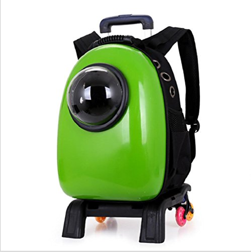 Innovative Traveler Bubble Backpack Pet Carriers for Cats and Dogs Dual use (Multicolor) , 5 by GJX