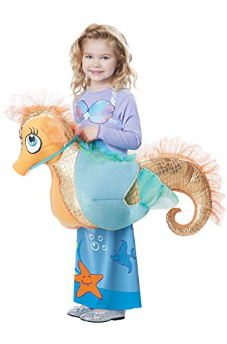California Costumes Seaquestrian Mermaid Costume, Multi, Toddler (3-6) ()