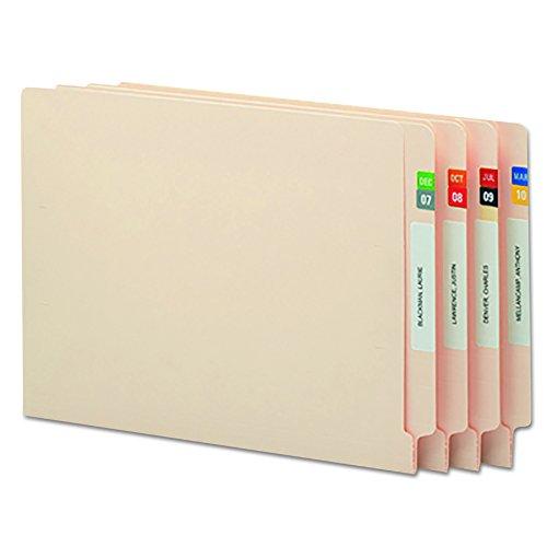 Smead ETS Color-Coded Month Labels, Jan-Dec, Assorted Colors, 3000 Labels per Box (67450)