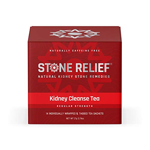 Chanca Piedra Kidney Cleanse Herbal Tea (Extra Strength) [Stone Breaker + Dandelion Root + Real Lemon] Kidney Support - Kidney Stone Dissolver - Kidney Supplement - Kidney Stone Prevention