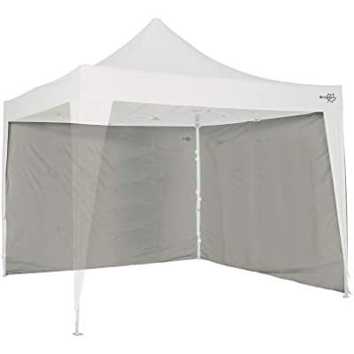 Bo Garden-Carpa 4472114 Pared Lateral, Color Gris