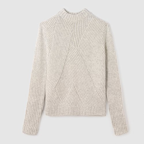 tom-tailor-womens-cropped-knit-jumper-sweater-beige-size-xl