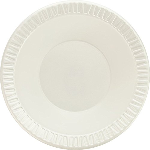 Dart 12BWWQR 10-12 oz White Laminated Foam Bowl (Case of ()