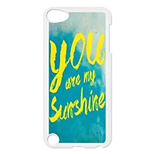 Dacase iPod Touch 5 Cover, you are my sunshine Custom iPod Touch 5 Case