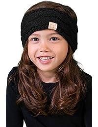 CC Kids Baby Toddler Knit Fuzzy Lined Head Wrap Headband...