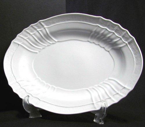 Richard Ginori (Richard Ginori) Vecchio White / 33cm oval plate 02-0555