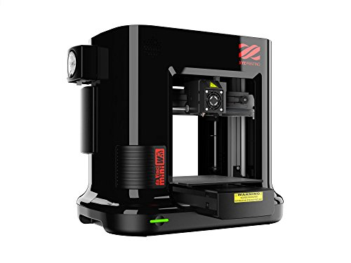 "da Vinci Mini Wireless 3D Printer-6""x6""x6"" Volume (Includes: 300g Filament, PLA/Tough PLA/PETG) - Upgradable to print Metallic/Carbon PLA"