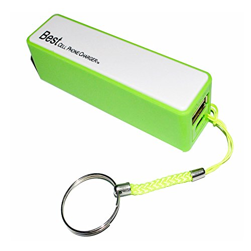 Best Portable Pocket Size Cell Phone 2600mAH Power Bank Charger Universal Design for iPhones, Samsung, HTC, Nokia, Blackberry 1-Year Warranty Against Factory Defects Order Now.