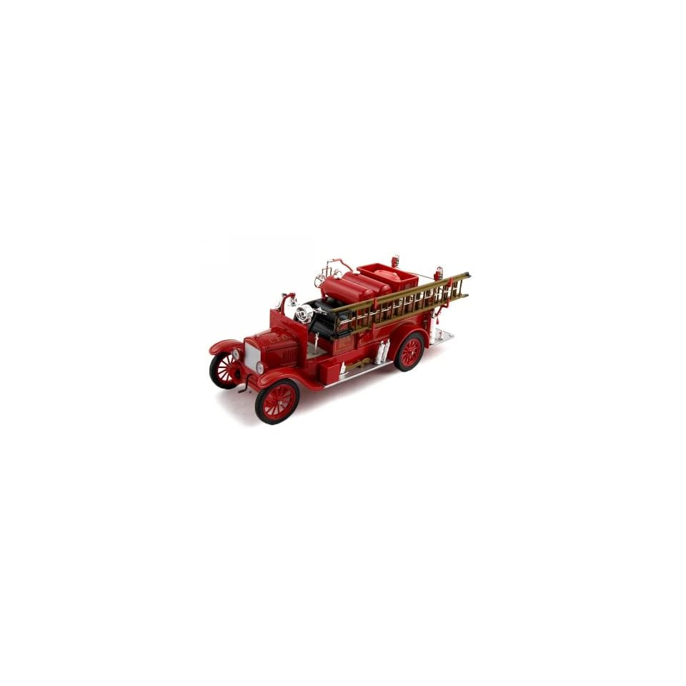 1926 Ford Model T Fire Diecast Model Truck 1/32 Red