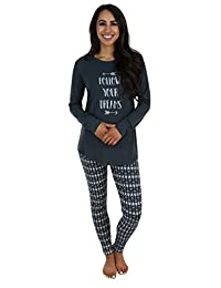 Sleepyheads Women's Sleepwear Knit Longsleeve Top Leggings Pajamas PJ Set