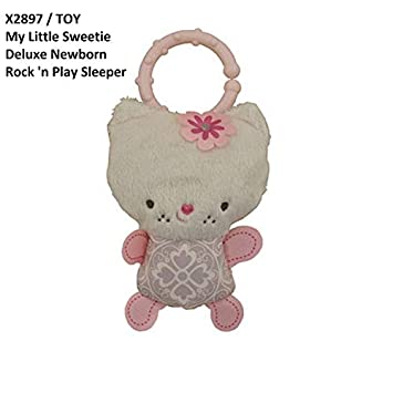Amazon Com Replacement Pink Soft Kitty Cat Toy For Fisher Price My Little Sweetie Deluxe Newborn Rock N Play Sleeper Model X2897 Baby