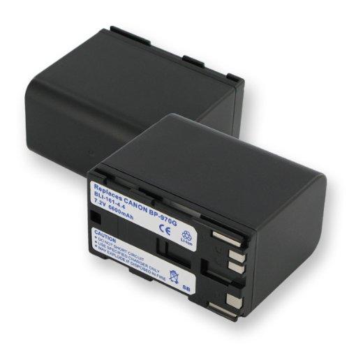 6600mA, 7.2V Replacement Li-Ion Battery for Canon BP-941 Video Cameras - Empire Scientific #BLI-161-4.4