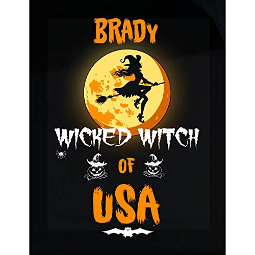 Inked Creatively Brady Wicked Witch of USA Sticker]()