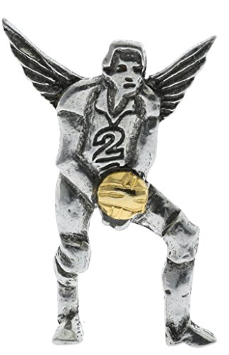- Sujak Military Items Volleyball Player Guardian Angel Lucky Charm Hat Lapel Pin