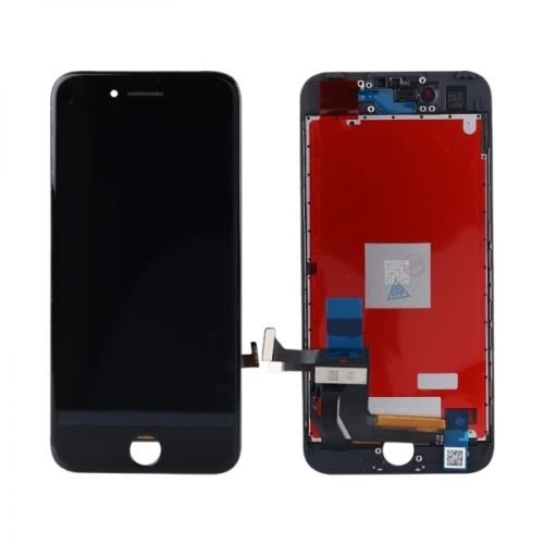 ZTR LCD Screen Replacement Fits iPhone 7 4.7 inch Display Full Complete digitizer Assembly Frame Set Front Glass (Black)