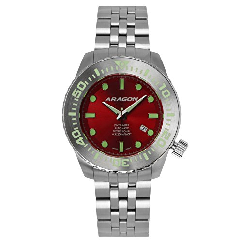 Aragon A254RED Divemaster Evo Automatic 50mm by ARAGON®